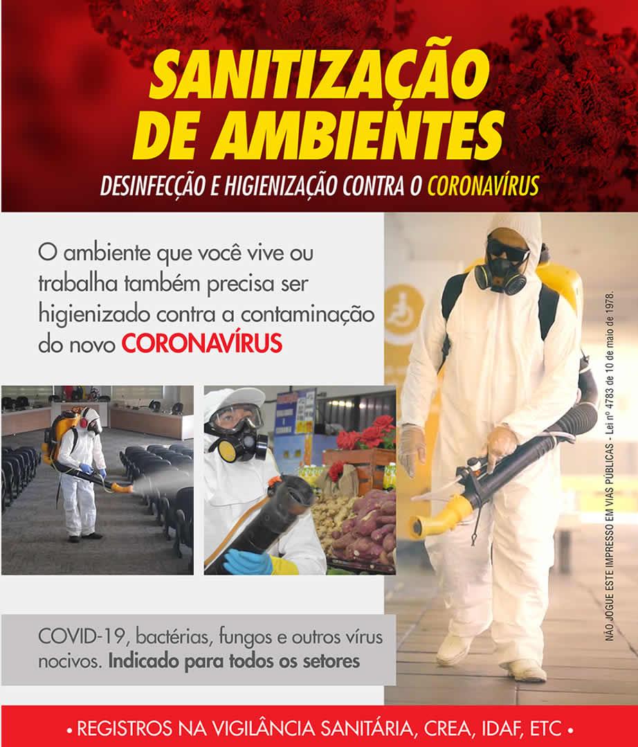 Clique aqui para conhecer nosos serviços de Sanitização